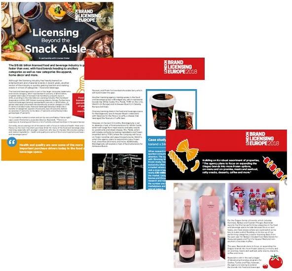 Brand Licensing Report - Food & Beverage